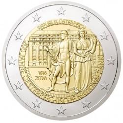 AUSTRIA 2 EUROS 2016 BANCO NACIONAL 200 SC MONEDA CONMEMORATIVA COIN OSTERREICH
