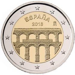 ESPAÑA 2 EUROS 2016 UNESCO ACUEDUCTO DE SEGOVIA SC MONEDA CONMEMORATIVA COIN