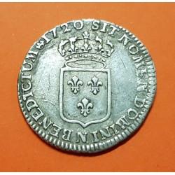 .FRANCIA ECU 1786 L LOUIS XVI BAYONNE ARGENT Plata France