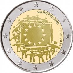 . 2 EUROS 2015 BANDERA EUROPEA FINLANDIA SC Moneda Coin