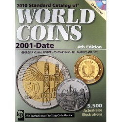 @OFERTA@ CATALOGO DE MONEDAS MUNDIALES WORLD COINS 2001 2010 Editorial Krause Edición 32th ESTADO USADO