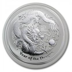 AUSTRALIA 1 DOLAR 2012 2ª SERIE LUNAR PLATA DRAGON Silver Dollar