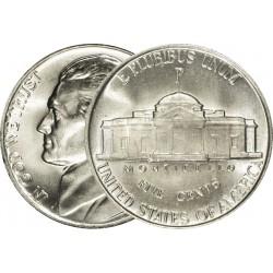 ESTADOS UNIDOS 5 CENTAVOS 1968 S JEFFERSON KM.A192 MONEDA DE NICKEL SC USA 5 Cent