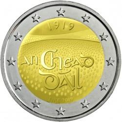 IRLANDA 2 EUROS 2019 CENTENARIO DE LA PRIMERA SESION DEL DAIL EIREANN SC MONEDA CONMEMORATIVA COIN Eire Ireland