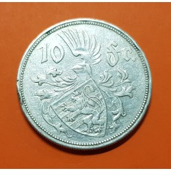 .LUXEMBURGO 5 FRANCOS 1929 CHARLOTTE PLATA SC SILVER LUXEMBOURG