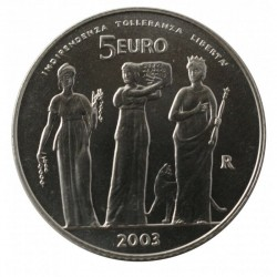 SAN MARINO - 5 EURO + 10 EUROS 2008 SILVER PROOF