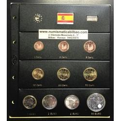 . @ESPAÑA@ MONEDAS EUROS 2015 FELIPE VI 1 Cts/2€ SC TIra Serie