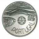 PORTUGAL 5 EUROS 2019 SALVEMOS EL MAR MONEDA DE NICKEL SC Tirada 40000 uds