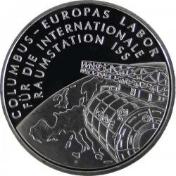 ALEMANIA 10 EUROS 2004 Ceca D PLATA AGENCIA ESPACIAL SC SILVER