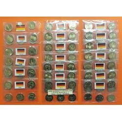 110 monedas x ALEMANIA 2 EUROS 2006 2007x2 2008 2009x2 2010 2011 2012x2 2013x2 2014 2015x3 2016 2017 2018x2 2019 ADFGJ