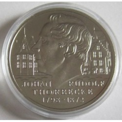HOLANDA 2,50 ECUS 1998 JOHAN RUDOLF THORBECKE MONEDA DE NICKEL SC ECU The Netherlands