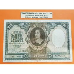 1000 PESETAS 1940 ENERO 9 BARTOLOME MURILLO Serie A.1463433 MBC