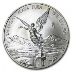MEXICO 1 ONZA 1996 ANGEL LIBERTAD MONEDA DE PLATA PURA 999 SC Mejico Silver coin OZ OUNCE @RARA@