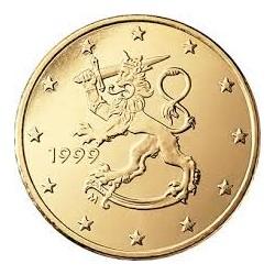 FINLANDIA 50 CENTIMOS 1999 LEON SIN CIRCULAR FINNLAND MONEDA CTS