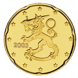 FINLANDIA 20 CENTIMOS 2002 SC MONEDA COIN Finnland Cts