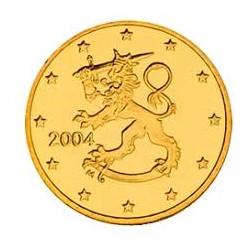FINLANDIA 10 CENTIMOS 2004 LEON MONEDA DE LATON SC Finnland 10 Cent Euro coin