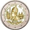 @RARA@ VATICANO 2 EUROS 2019 SC 90 ANIVERSARIO DE LA CIUDAD MONEDA CONMEMORATIVA @CARTERA OFICIAL@