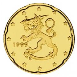 FINLANDIA 20 CENTIMOS 1999 SC MONEDA COIN Finnland Cts