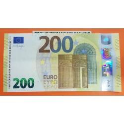 @NUEVO DISEÑO@ ESPAÑA 200 EUROS 2019 Color Amarillo SERIE UB BILLETE NUEVO SIN CIRCULAR Spain UNC BANKNOTE