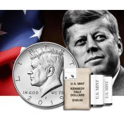 ESTADOS UNIDOS 1/2 DOLAR 2019 P JOHN FITZGERALD KENNEDY KM.202.A MONEDA DE NICKEL SC USA Half Dollar