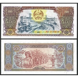 . LAOS 10 KIP 1962 SC Pick 10 LAO REPUBLIC BILLETE