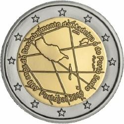 PORTUGAL 2 EUROS 2019 ISLA DE MADEIRA 600 AÑOS DEL DESCUBRIMIENTO SC 2ª MONEDA CONMEMORATIVA 2€ coin TIRADA CORTA