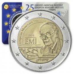 BELGICA 2 EUROS 2019 EMI EUROPEAN MONETARY INSTITUT SC MONEDA CONMEMORATIVA Belgium 2€ coin