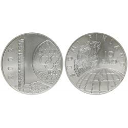 FINLANDIA 10 EUROS 2002 OLIMPIADA DE HELSINKI 1952 KM.107 MONEDA DE PLATA SC Finnland silver coin