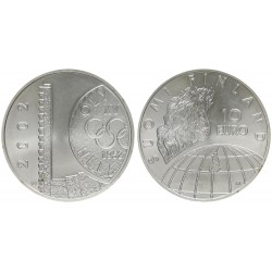 FINLANDIA 10 EUROS 2002 PLATA PROOF ELIAS LONNROT Silver Finnlan