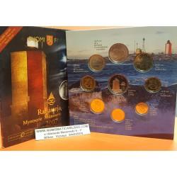 @OFERTA ZGZ@ FINLANDIA CARTERA OFICIAL EUROS 2007 BU SET 1+2+5+10+20+50 CENTIMOS 1 EURO + 2 EUROS 2007 Finnland