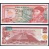 MEXICO 20 PESOS 1977 PIRAMIDE AZTECA y JOSE MORELOS Serie DL Pick 64 BILLETE SC Mejico UNC BANKNOTE