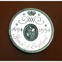 INGLATERRA 2 LIBRAS 1994 1694 BANCO CENTRAL KM.968 MONEDA DE LATON @LUJO@ United Kingdom 2 Pounds UK