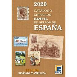 @NOVEDAD@ CATALOGO UNIFICADO EDIFIL DE SELLOS DE ESPAÑA 1850 a 2019 Fotos a COLOR 388 páginas