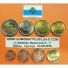 SAN MARINO MONEDAS EURO 2003 SC 1+2+5+10+20+50 CENTIMOS 1 EURO + 2 EUROS 2003 @DE CARTERA OFICIAL@ REVERSO TIPO 1