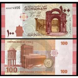 . SIRIA 5 LIBRAS 1991 SC Pick 100 SYRIA POUND BILLETE