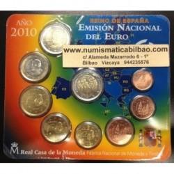 ESPAÑA CARTERA FNMT EURO 2010 BU SET KMS EURO 1+2+5+10+20+50 Centimos 1+2 EUROS + 2 EUROS 2010 MEZQUITA DE CORDOBA