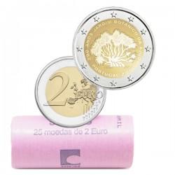 @CARTUCHO 25 MONEDAS@ PORTUGAL 2 EUROS 2018 JARDIN BOTANICO DE AJUDA SC CONMEMORATIVA 2 Euro coin