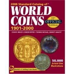 . CATALOGO MONEDAS WORLD COINS 1901 - 2000 Krause Edic. 43th