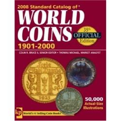 @OFERTA@ CATALOGO DE MONEDAS MUNDIALES WORLD COINS 1901 2000 Editorial Krause Edición 35th Año 2008 ALGO USADO