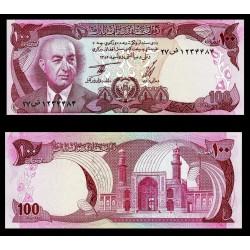AFGANISTAN 100 AFGHANIS 1977 DAUD SHAH QUASI y MEZQUITA Pick 50C BILLETE SC Afghanistan UNC BANKNOTE