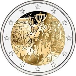 FRANCIA 2 EUROS 2019 MURO DE BERLIN 30 AÑOS DE SU CAIDA SC 2ª MONEDA CONMEMORATIVA France