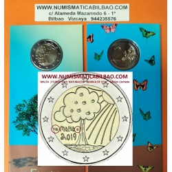 @MARCA DE CECA CORCUCOPIA@ MALTA 2 EUROS 2019 SOLIDARIDAD DIBUJO INFANTIL 2ª MONEDA CONMEMORATIVA COINCARD 2€ coin