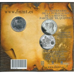 . ESPAÑA CARTERA FNMT 30€ EUROS 2014 EL GRECO PLATA Silver