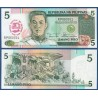 FILIPINAS 5 PISO 1989 EMILIO AGUINALDO RESELLO - BANCO CENTRAL CONMEMORATIVO Pick 177A BILLETE SC Philippines UNC BANKNOTE