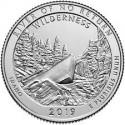 @5ª MONEDA@ ESTADOS UNIDOS 25 CENTAVOS 2019 D Parque Nacional WILDERNESS Estado de IDAHO NICKEL SC USA Quarter