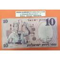 ISRAEL 10 SHEQALIM 1958 CIENTIFICO EN LABORATORIO Pick 32 BILLETE MBC @ESCASO@ PVP NUEVO 45€