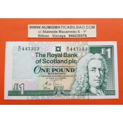 ESCOCIA 1 LIBRA 1991 THE ROYAL BANK OF SCOTLAND Lord Lay Pick 351B BILLETE EBC+ 1 Pound BANKNOTE