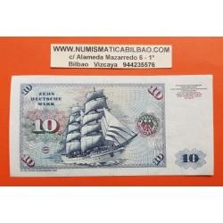 ALEMANIA 10 MARCOS 1980 ALBERT DURER Serie CR...007R Pick 31D BILLETE MBC Germany Federal BRD NUEVO 25€