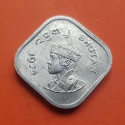 . BHUTAN 50 NGULTRUMS 1995 ONU 1945 KM*83 NICKEL SC