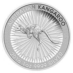 AUSTRALIA 1 DOLAR 2016 WILDLIFE CANGURO SC MONEDA DE PLATA PURA Silver 999 Oz Dollar Coin ONZA OUNCE
